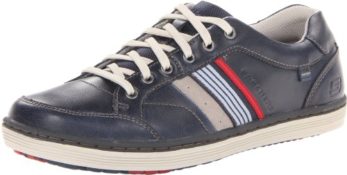 Skechers USA Mens Sorino - Duarte Low-Top 64060 Navy 9 UK, 43 EU