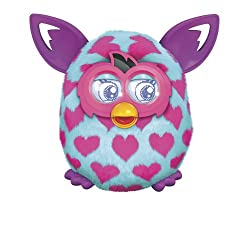 [Best price] Stuffed Animals & Plush - Furby Boom Pink Hearts Plush Toy - toys-games