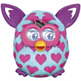 Furby Boom Pink Hearts Plush Toy