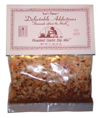 Roasted Garlic Dip Mix (Garlic Snack Mix compare prices)