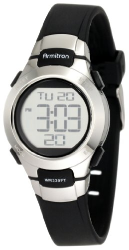 armitron-sport-womens-457012blk-chronograph-black-resin-stainless-steel-accent-strap-watch