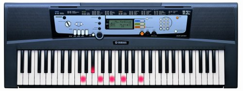 Yamaha EZ200-K Key Lighting Portable Keyboard with 61 touch sensitive full size keys