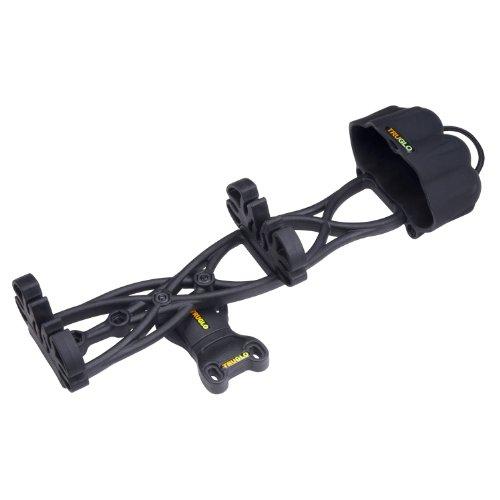 TRUGLO TG335B Carbon XS 5 Arrow Quiver (Black,