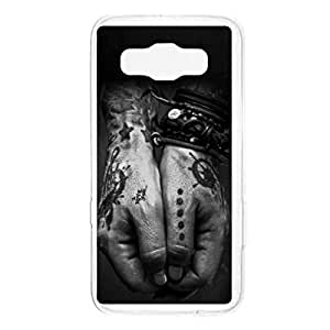 a AND b Designer Printed Mobile Back Cover / Back Case For Samsung Galaxy A5 (SG_A5_1570)