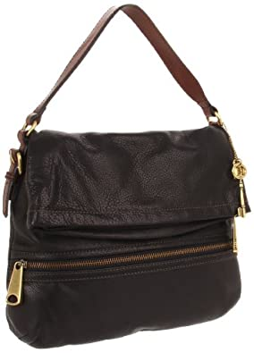 Fossil Explorer Flap ZB5256 Cross Body,Black,One Size