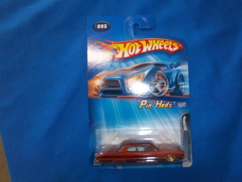 Hot Wheels Pin Hedz 2005 093 1964 Chevy Impala - 1
