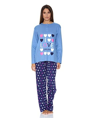 Muslher Pijama Corazón