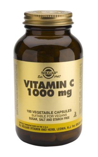 Solgar-Vitamin C 1000mg Capsules: 100