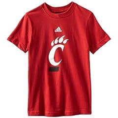 Buy NCAA Cincinnati Bearcats 8-20 Boys S S Team Logo Tee by adidas
