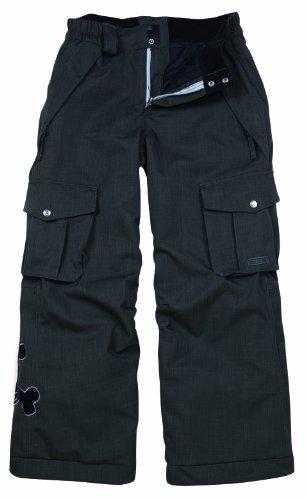Paul Frank Boys' Skurvy Insulated Pant-Herringbone Denim (Gunmetal, Large) Paul Frank B007ROUG0G