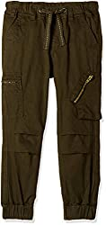Cherokee Boys' Trousers (267914493_Olive_2 - 3 years)