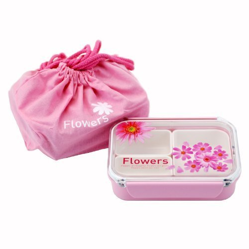 Takeya Bento Lunch Box With A Pink Bag, 500Ml