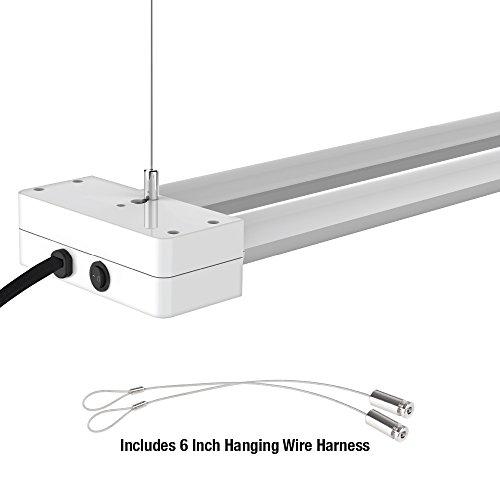 Feit 73991 2 Lamp 4-Feet LED Shop Light, 48-Inch, 4100K
