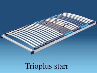 Hn8 Trioplus - 140x200 cm Mehrzonen Lattenrost, starr