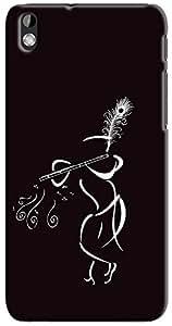 Kasemantra Muralia In Black Case For HTC Desire 816