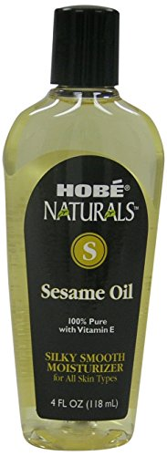 Hobe Naturals Sesame Oil, 4-Fluid Ounce (Pack of 3) (Hobe Naturals compare prices)
