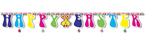 One Huge Happy Easter Cardboard Banner - 118""