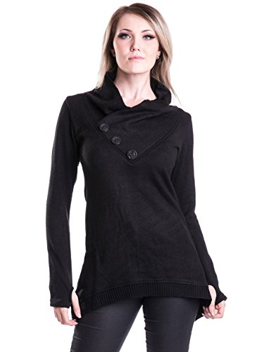 sybil-jumper-with-buttons-and-corset-detail-black-xl-innocent-clothing
