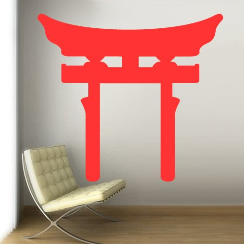 """Large Huge 48X53"""" Size Wall Vinyl Sticker Decals Decor Art Bedroom Design Mural Wall Decal Symbol Shinto (Japan) Torii Gate Native Inks Egypt (Z286B) front-935967"""