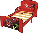 4Gr8 Kidz Racing Series Toddler Bed with Safe Sleep Rails