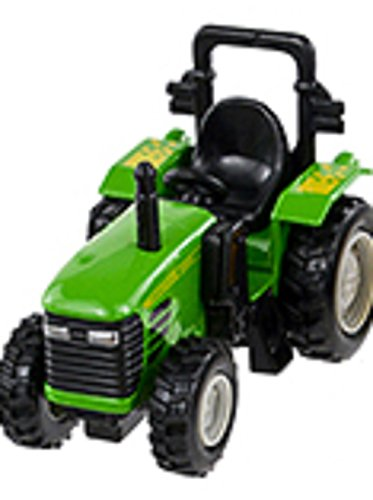 Pull Back and Go - 4 Inch Power Tractor - (Green) - 1