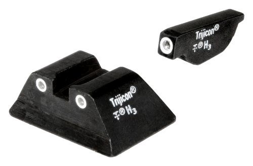 Ruger P85 Or P89 3 Dot Front And Rear Night Sight Set