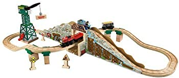 Fisher-Price Wooden Railway Set