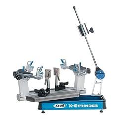 Gamma X-6FC Tennis Stringing Machine, Blue Silver by Gamma