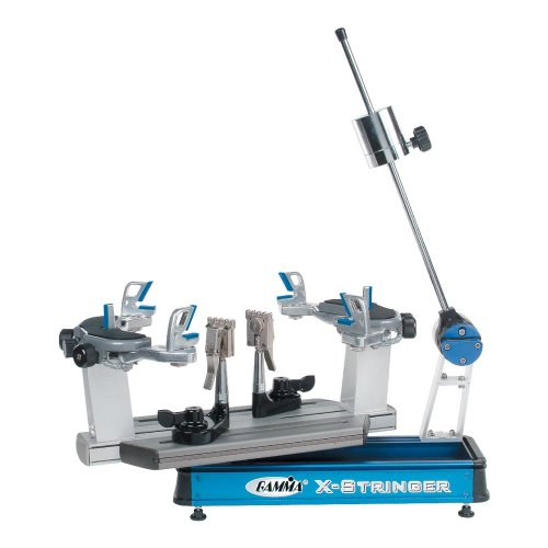 Gamma X-6Fc Tennis Stringing Machine, Blue/Silver