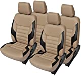 AutoDecor CA-149 Beige Leatherite Car Seat Cover For Tata Bolt(PACK OF 4)
