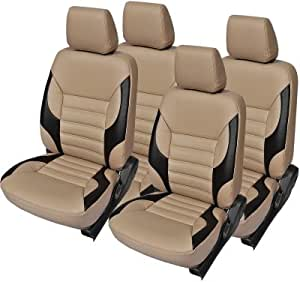 AutoDecor CA 117 Beige Leatherite Car Seat Cover For