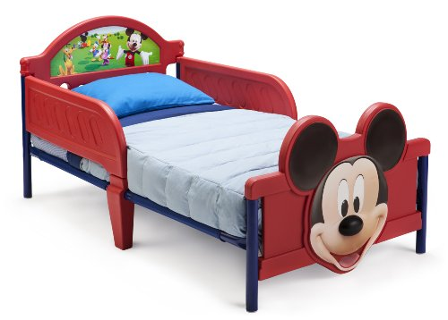 Disney Mickey Mouse 3D Toddler Bed for Little Boy