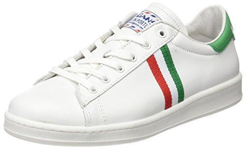 El Ganso Unisex - Adulto Low Top Blanca Bandera Italia scarpe sportive bianco Size: 37