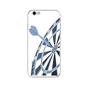 iSweven printed iph6p_3275 Black Wheel Design Multicolored Matte finish Back case cover for Apple iPhone 6 plus