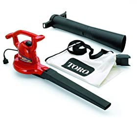 Toro 51599 Ultra 12 Amp Variable Speed Electric Blower/Vacuum With Metal Impeller