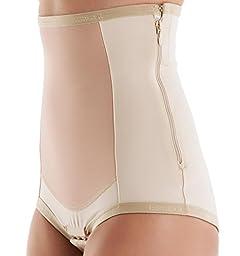 Bellefit Postpartum Girdle with Zipper, Medical-Grade, Compression & Support
