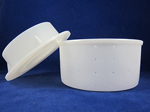 MGS Tome Cheese Mold with Follower Lid (SKU 1014) (Cheese Follower compare prices)