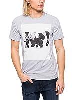 Cerruti Camiseta Manga Corta CMM8022950 C0843 (Gris Jaspeado)