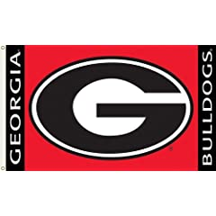 Buy NCAA Georgia Bulldogs 3-by-5 Foot Flag G Logo with Grommets by BSI
