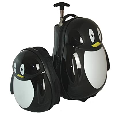 Childs Onboard Travel Case With Backpack (black)