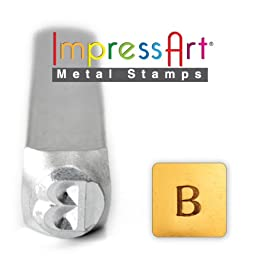 ImpressArt- 6mm, Beta Greek Letter Stamp