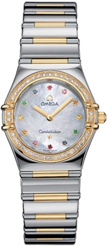 Omega Women's 1376.79.00 Constellation Iris My Choice Quartz Small Watch