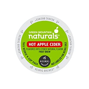 Keurig, Green Mountain Naturals, Hot Apple Cider, K-Cup packs, 72 Count
