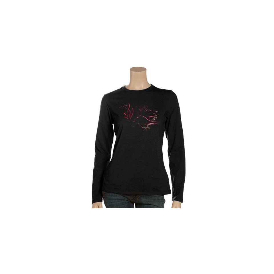 NCAA South Carolina Gamecocks Ladies Black Blackout Long Sleeve T shirt