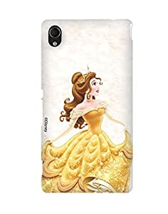 Pick Pattern with Exclusive DISNEY Characters Back Cover for Sony Xperia M4 Aqua