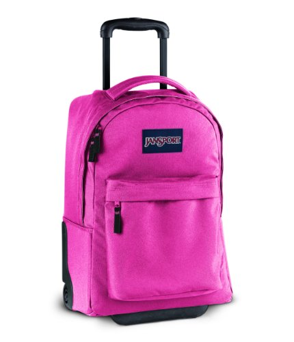 JanSport Wheeled Superbreak Backpack Pink