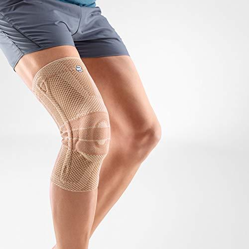 Bauerfeind GenuTrain Knee Support Brace (New Version) - Targeted Support for Pain Relief & Stabilization for Weak, Swollen & Injured Knees & Arthritis - Size 5 - Color Nature (Color: Nature (New Version), Tamaño: 5)