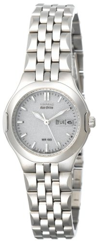 Citizen Women's Eco-Drive Corso Stainless Steel Watch #EW3120-59A