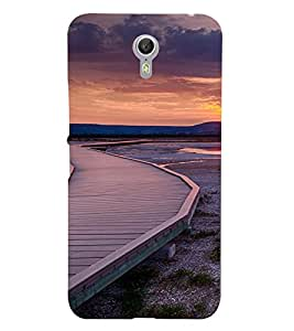 PrintVisa Travel Sunset Design 3D Hard Polycarbonate Designer Back Case Cover for Lenovo Zuk Z1