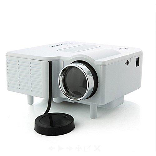 Led Electric Zoom Portable Video Pico Micro Small Mini Projector Hdmi Usb